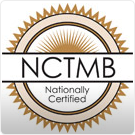The National Certification Board for Therapeutic Massage and Bodywork logo